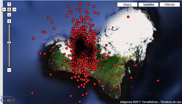 El Hierro Earthquake Swarm