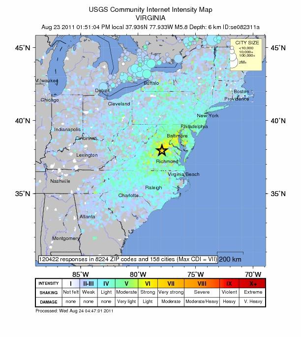 usgs radius effects of virginia 58 earthquake the extinction protocol