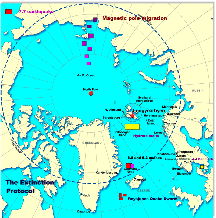 Major earthquakes strike near north and south poles | The ...