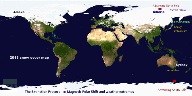 The Night Is Coming: Is the Shifting Magnetic Pole Causing Extreme