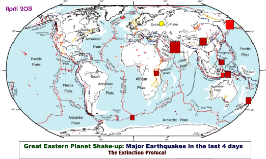 Earth Shaken: flurry of powerful earthquakes rattle eastern region of the planet Eastern-shake-up-2