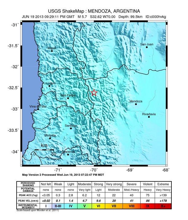 Chile quake