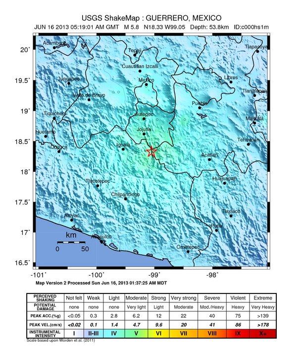 Violent explosion shakes Mexico's Popcatepetl volcano Mexico-june-16