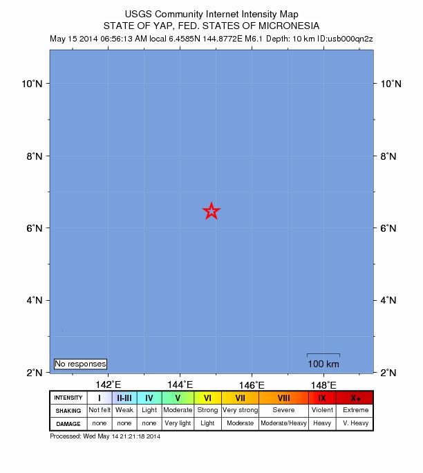 Micronesia 6.1 May 14