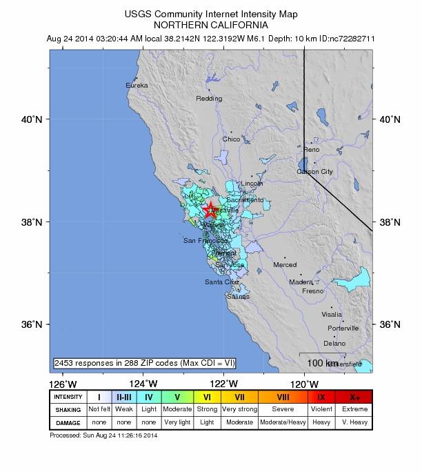 California 6.0 August 24, 2014