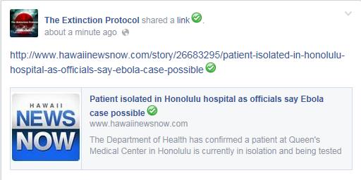 Ebola Hawaii
