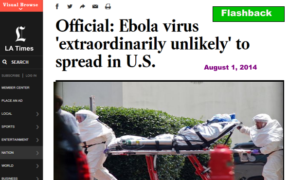 LA Times Ebola A TEP