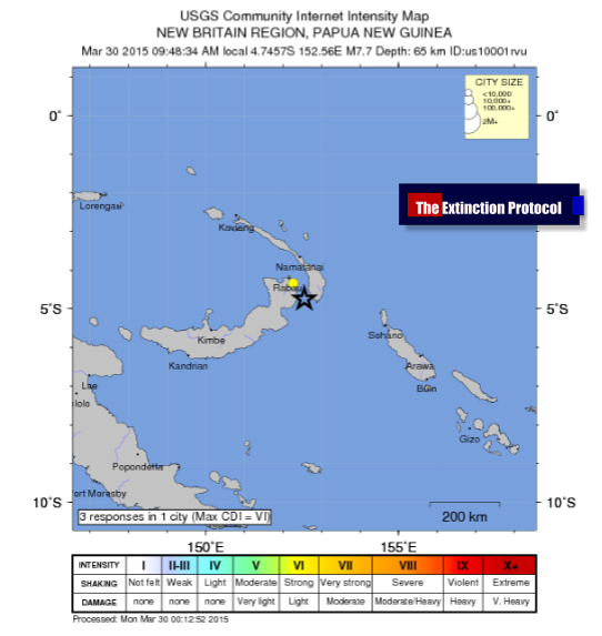 Deep 7.7 magnitude earthquake strikes PNG – 3rd major quake to hit the region in 4 months Png-7-7-march-30