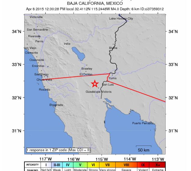 Baja Ca Quake