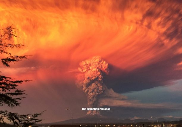 Chile's Volcanic Ash Cloud