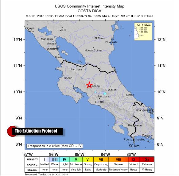 Costa Rica Quake