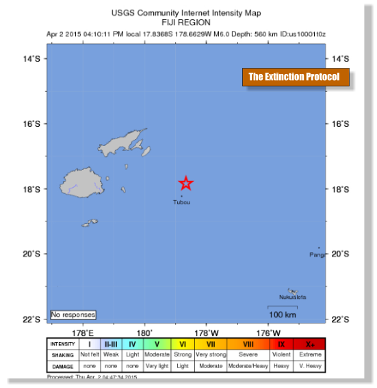 Fiji Quake