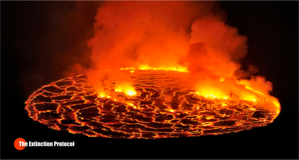 Hawaii Lava Lake Overflows