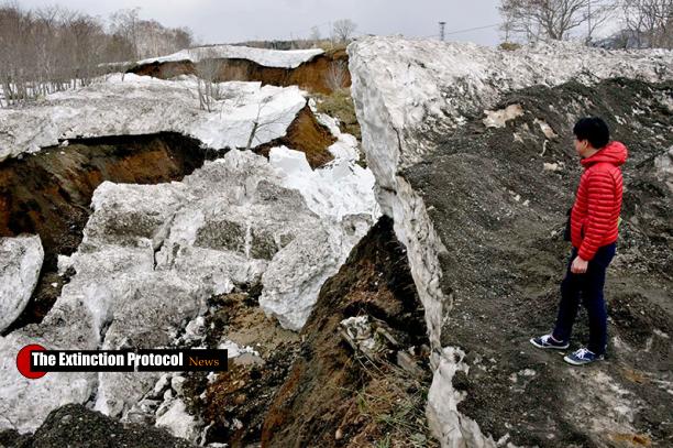 Japan Landslide North
