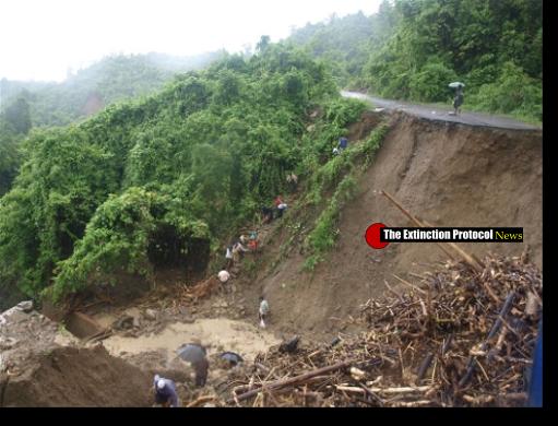 Landslide Myanmar TEP