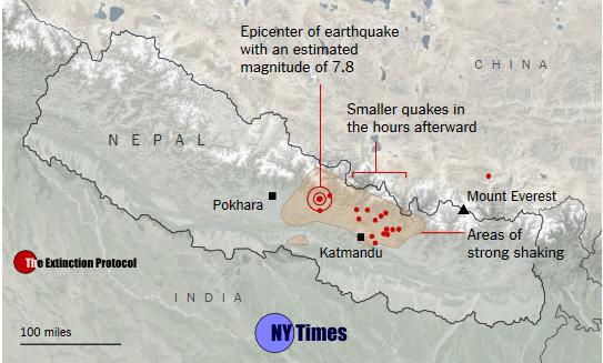 Nepal Quake Map