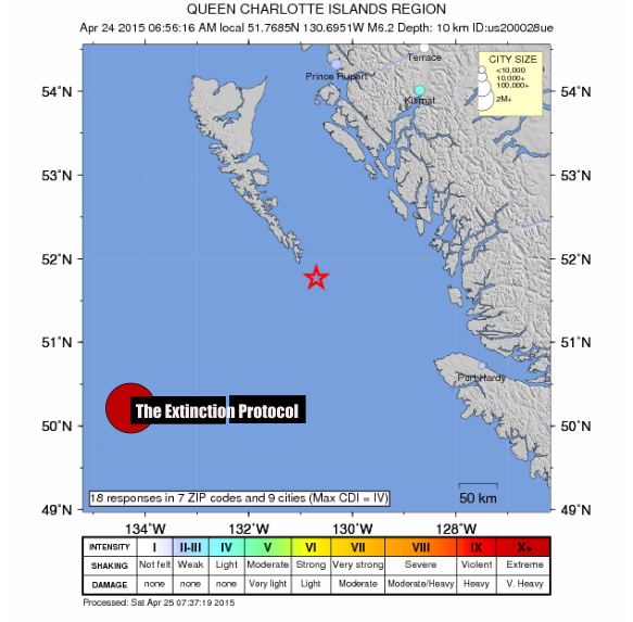 6.1 magnitude earthquake strikes off British Columbia's north coast Queen-charlotte-quake-1