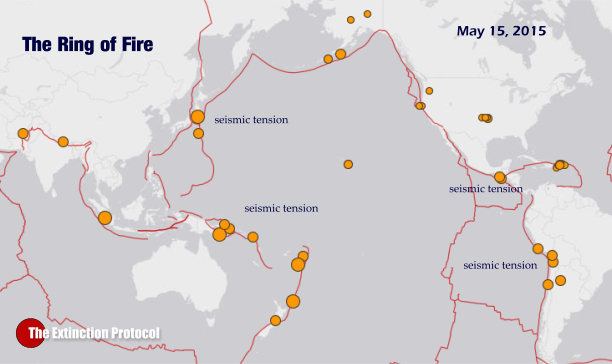 Seismic tension continues to build in the Pacific Ring of Fire