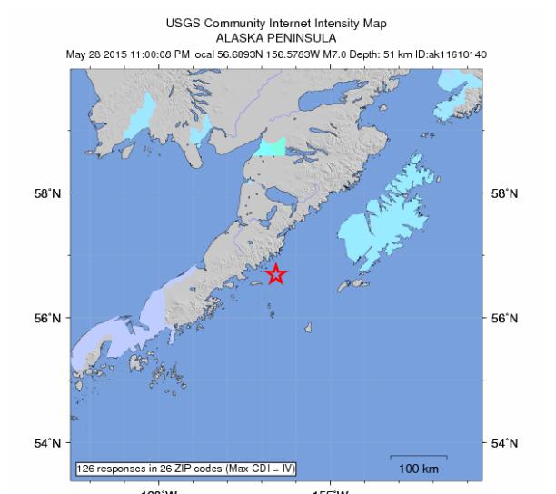 The Earthquake/Seismic Activity Log #2 Alaska-quake-2