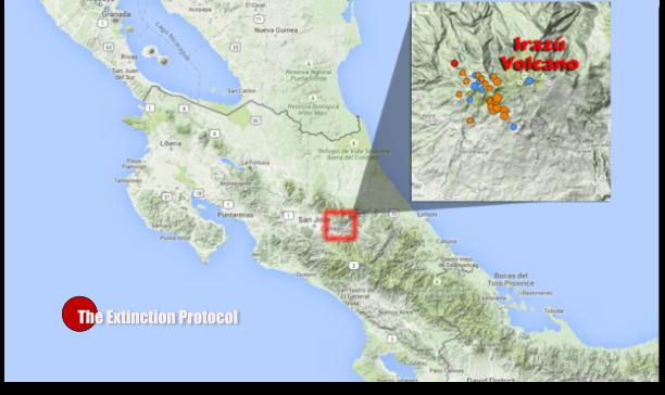 Costa Rica Quake Swarm