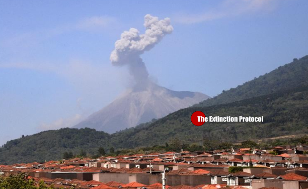 Fuego Volcano 5 15 2015
