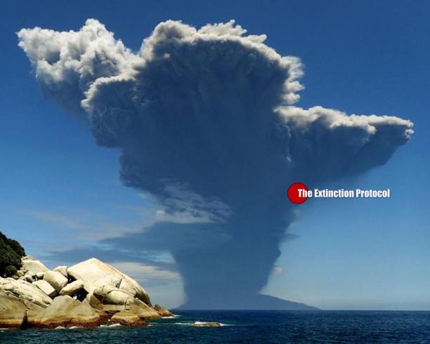 Japan Volcano Shindake 2