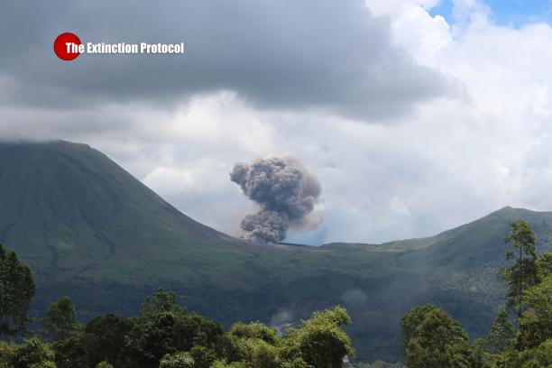 Lokon Empung Volcano