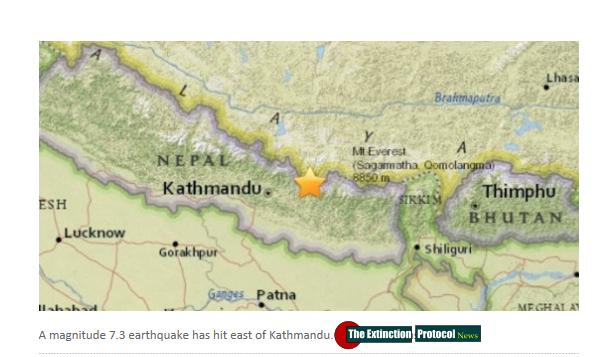 The Earthquake/Seismic Activity Log #2 May-7