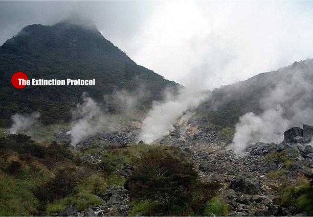 Mount Hakone Volcano