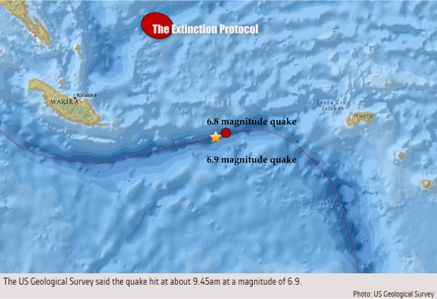 Solomon Islands Quake A