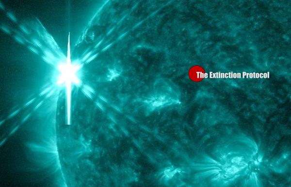 Sun Spot Eruption