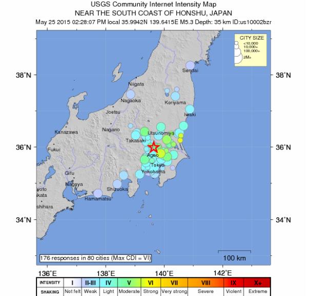 The Earthquake/Seismic Activity Log #2 Tokyo-quake