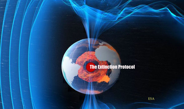 Earth Magnetic Field The Extinction Protocol
