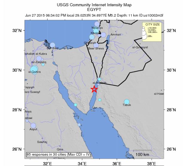 Egypt Quake