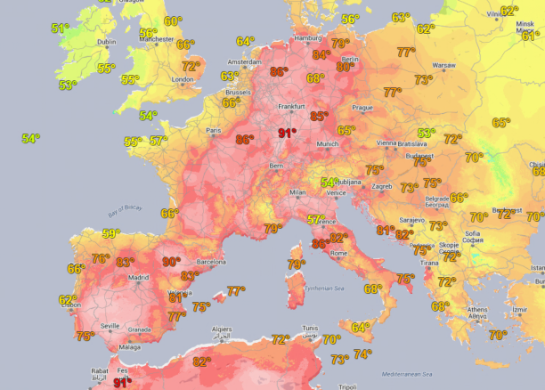 Global Heat Waves Europe-heat-wave