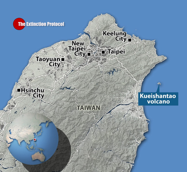 63: Underwater volcano erupts off the coast of Taiwan Taiwan-volcano