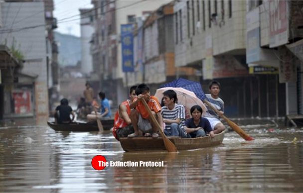 China Flash Floods