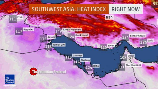 Iran heat Index