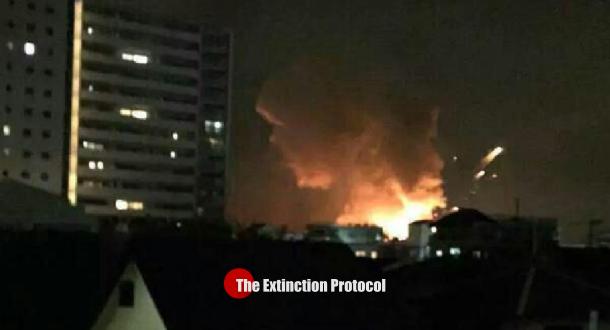 Japan explosion