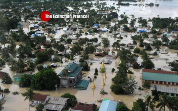 Myanmar Floods A