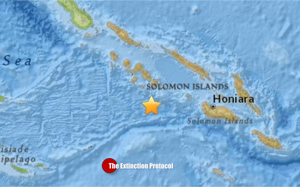 Quake Solomon Islands Alvin Conway