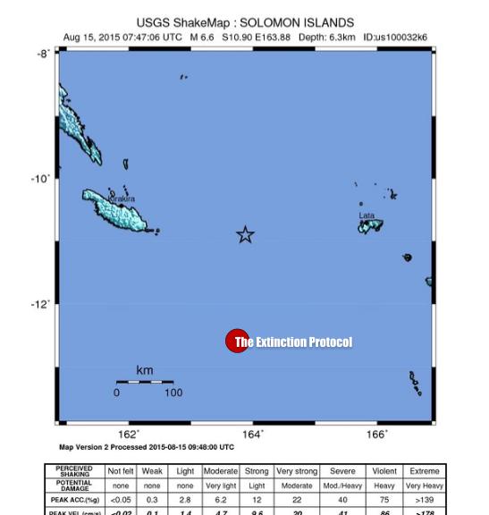 Solomon Islands Quake 2