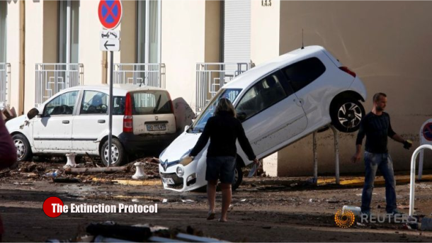 French Riviera Floods