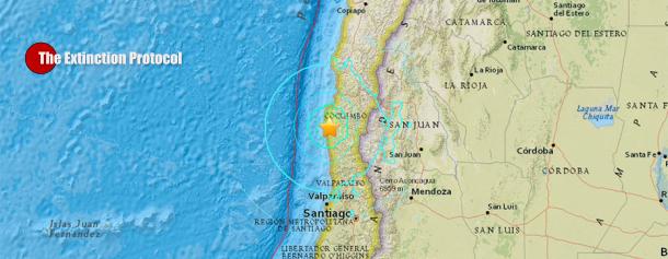 6.8 magnitude quake