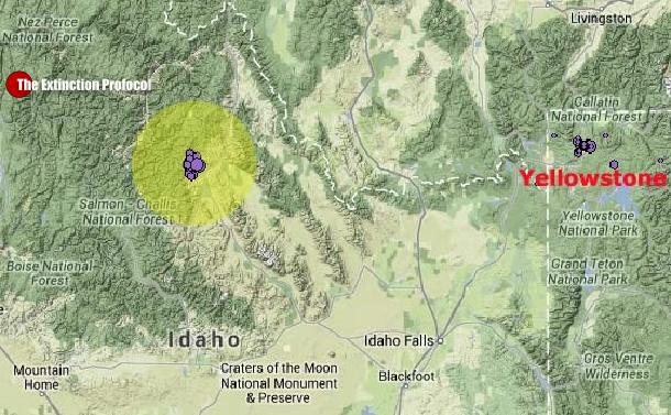 Quakes Idaho