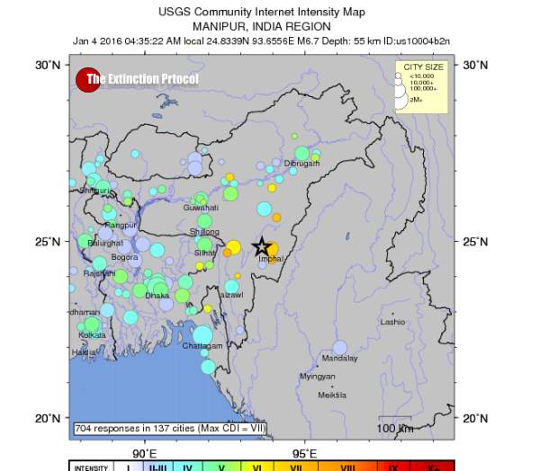 6.7 magnitude earthquake strikes India's northeast India-quake-6