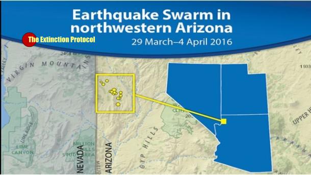 Arizona geologist says earthquake swarm is highly unusual A