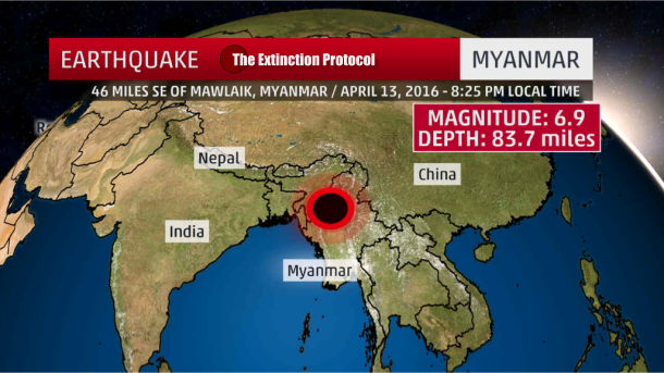 Myanmar Quake