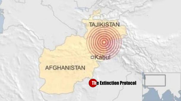 Quake Afghanistan April 10