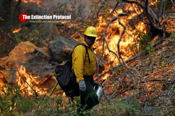 UPDATES ~ Wildfires in California, New Mexico trigger evacuations Ca-fires